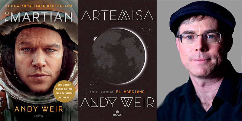 ANDY WEIR autor de El Marciano