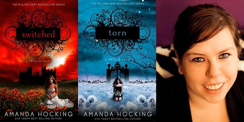 AMANDA HOCKING y sus Libros de exito